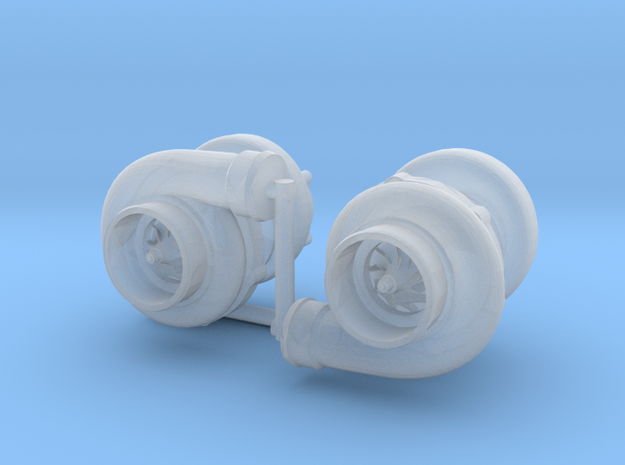 1/24 small turbo in Smooth Fine Detail Plastic