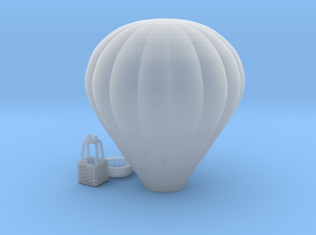 Hot Air Balloon - 1:300scale in Smooth Fine Detail Plastic