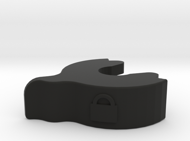 [LRG NUT] MM 510 Lock Ring 1.5 in Black Natural Versatile Plastic