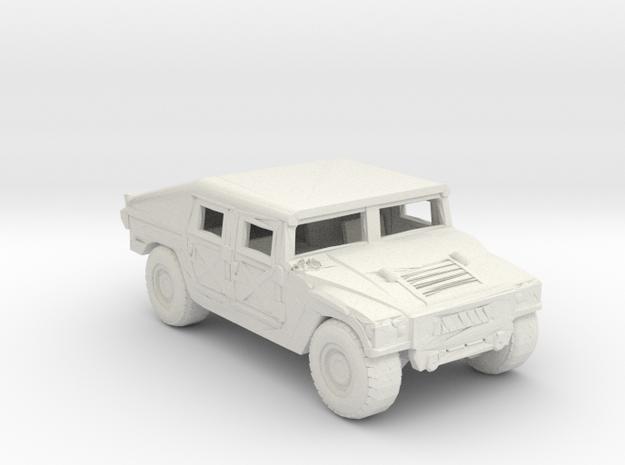 m966v2 220 scale in White Natural Versatile Plastic