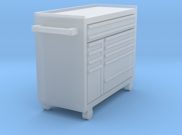 11-drawer masters series double bank roll cab in Smooth Fine Detail Plastic