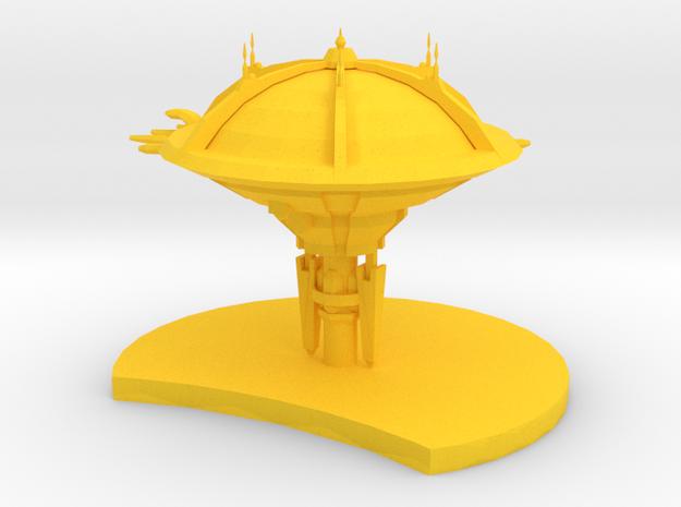 Species 8472 - Station in Yellow Processed Versatile Plastic