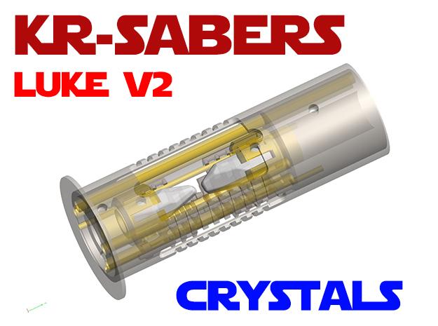 KR Luke V2 - CC Add-on - Crystals in Smooth Fine Detail Plastic