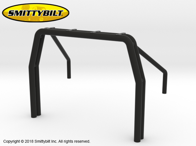 CT10003 C10 roll bar in Black Natural Versatile Plastic