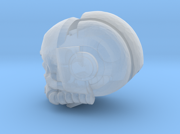 Chaplain Termie Skull  in Smooth Fine Detail Plastic