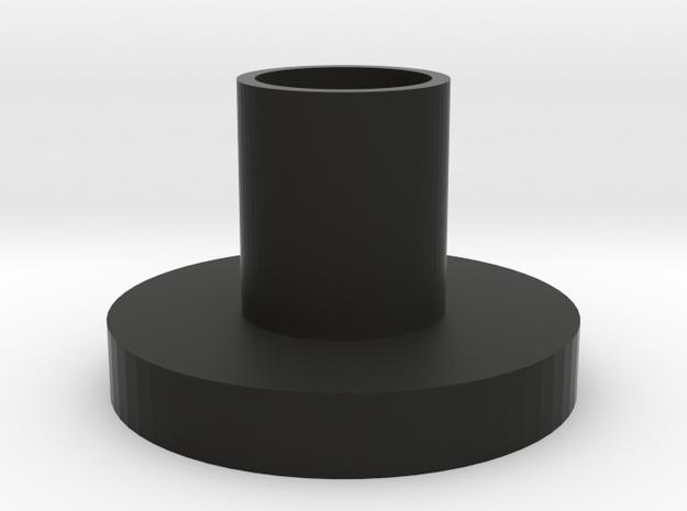 NeoPixel PCB holder.  in Black Natural Versatile Plastic