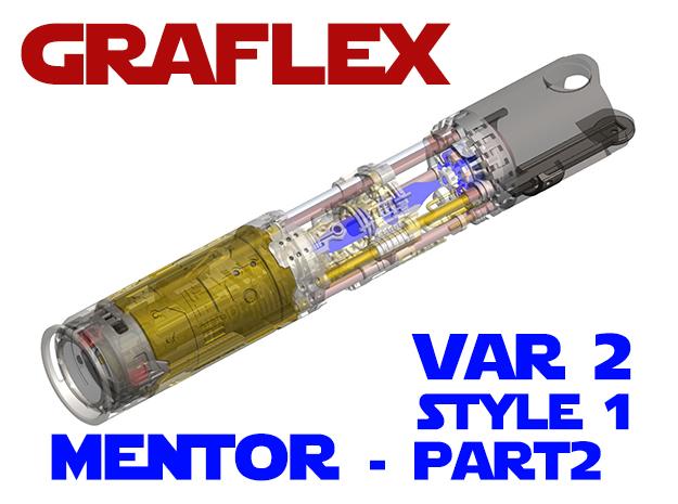 Graflex Mentor - Var2 Part02 - Switches Style1 in White Natural Versatile Plastic