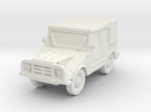 DKW Munga 4 scale 1/100 in White Natural Versatile Plastic