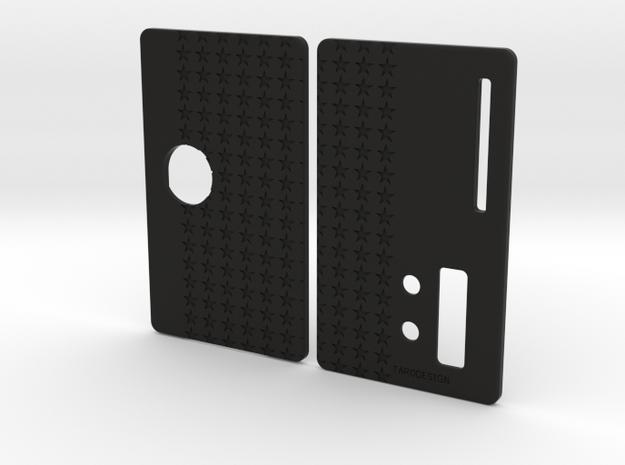 Sportello Billet Box Rev4  variante 5 in Black Natural Versatile Plastic