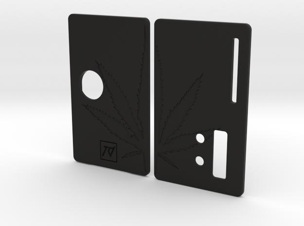 Sportello Billet Box Rev4  variante 10 in Black Natural Versatile Plastic