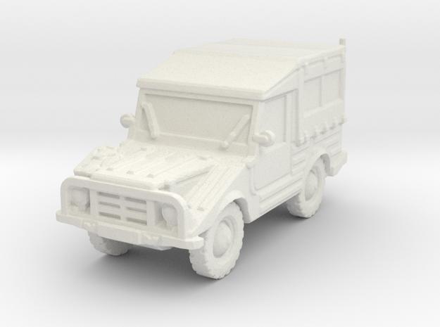 DKW Munga 8 scale 1/100 in White Natural Versatile Plastic