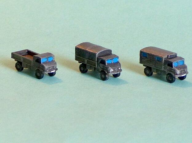 Unimog 404 Light Truck 1/285 6mm in Smooth Fine Detail Plastic