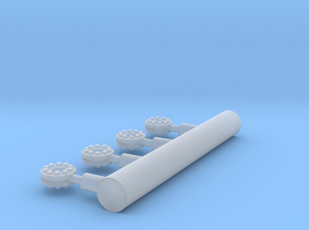 12inchflange in Smooth Fine Detail Plastic