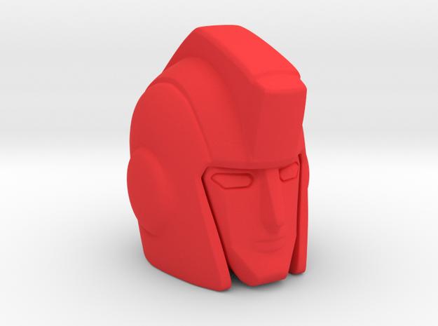 Ironhide 18 mm MP in Red Processed Versatile Plastic