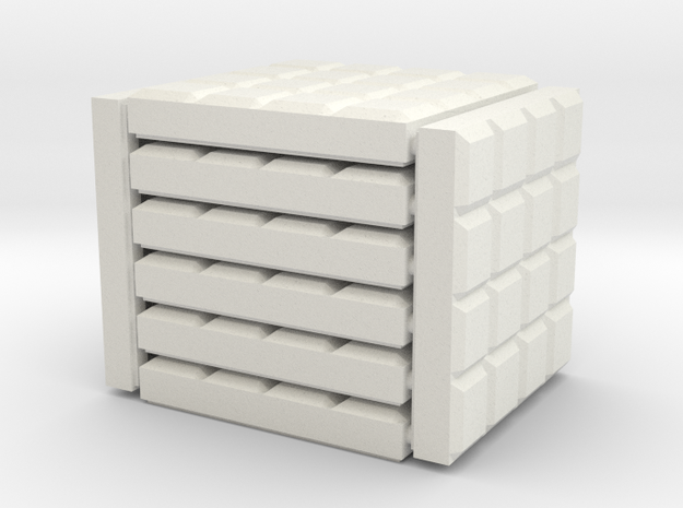 3 x 3 Porcelain Tile Set in White Natural Versatile Plastic