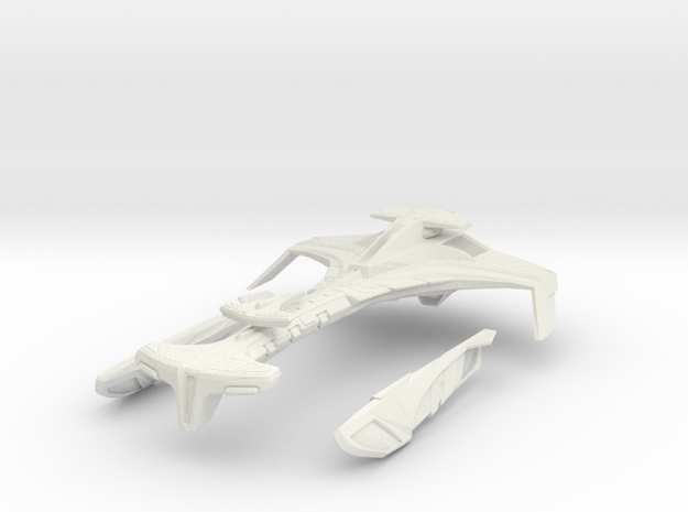 "Klingon Vor'Kang Battle Cruiser 8"" long"