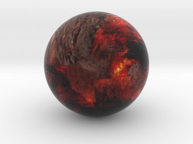 55 Cancri e diamond exoplanet in Natural Full Color Sandstone