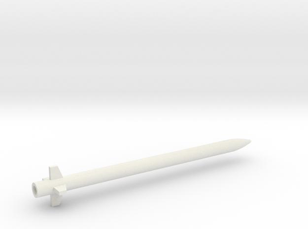 AIM-132 ASRAAM 1/144 in White Natural Versatile Plastic