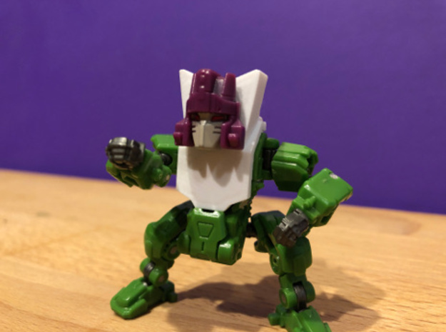 Powered Suit - Titan Master Chest in White Natural Versatile Plastic