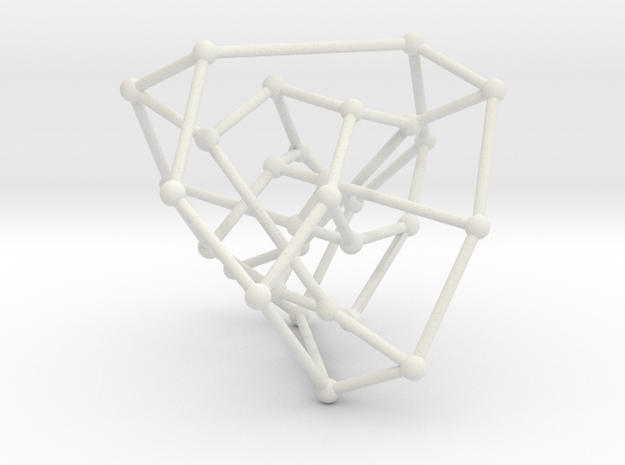 Tutte-Coxeter graph in White Natural Versatile Plastic