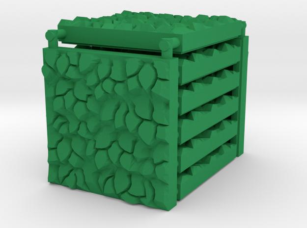 3x3 Hedge Tile Set in Green Processed Versatile Plastic