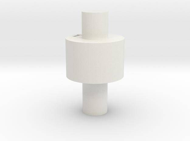 MK1 Weapon pod connector in White Natural Versatile Plastic