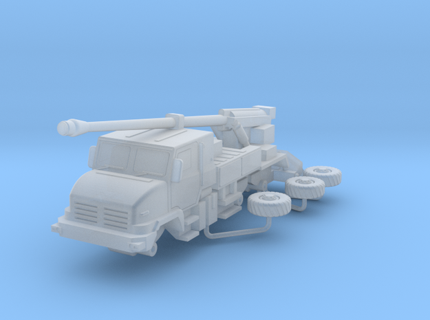 Caesar Howitzer Scale 1:200 in Smooth Fine Detail Plastic
