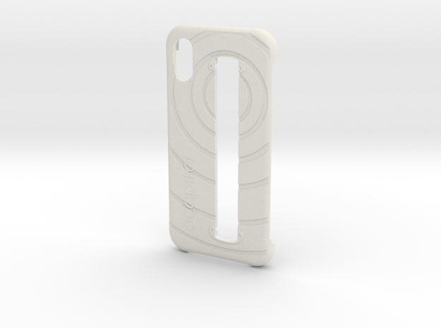 Structure Sensor Case - iPhone X in White Natural Versatile Plastic