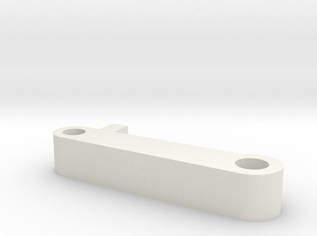 vsr flat nub in White Natural Versatile Plastic