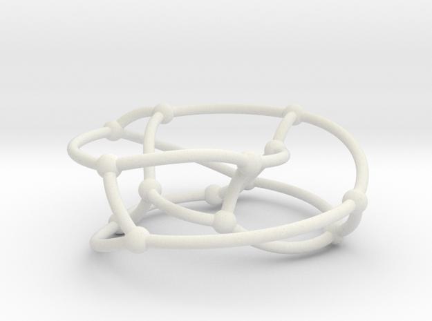 Heawood graph on torus in White Natural Versatile Plastic