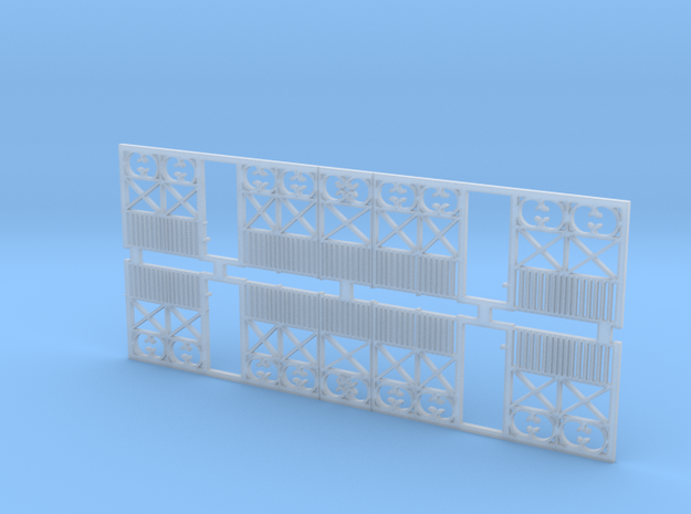 o-43-wcpr-end-balcony in Smooth Fine Detail Plastic