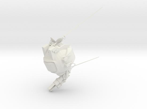Socketbot in White Natural Versatile Plastic