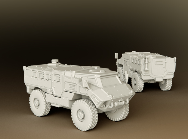 MRAP RG35 MIV Scale: 1:160 in Smooth Fine Detail Plastic