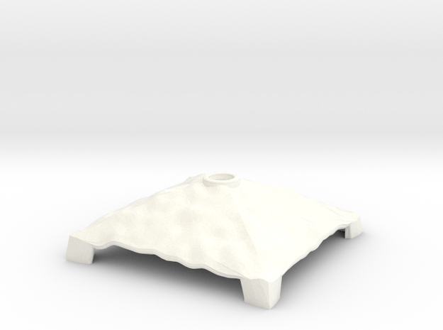 Carrot base no logo in White Processed Versatile Plastic
