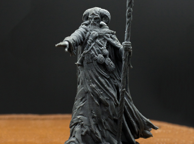 Tim the Enchanter - 28mm, 30mm, 32mm in Smooth Fine Detail Plastic: Small