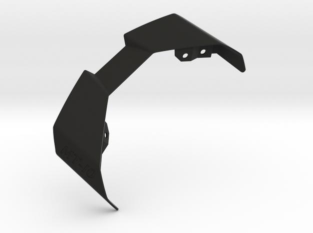 MT-10 Tail Light Fins Mk.6 in Black Natural Versatile Plastic