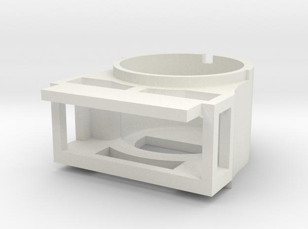 Neilson Smokebox printed lower in White Natural Versatile Plastic