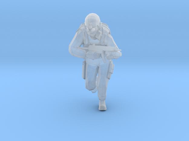 Black Mesa Containment Unit - C in Smooth Fine Detail Plastic
