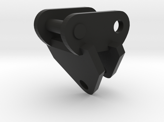 Adapterplaat maaikorf voor midikraan 8 tonner in Black Natural Versatile Plastic