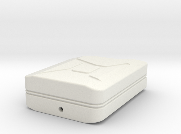 Jerry Can Body  1 to 10 in White Natural Versatile Plastic