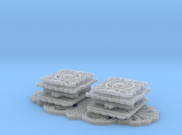 Piezas cinturon grupo in Smooth Fine Detail Plastic