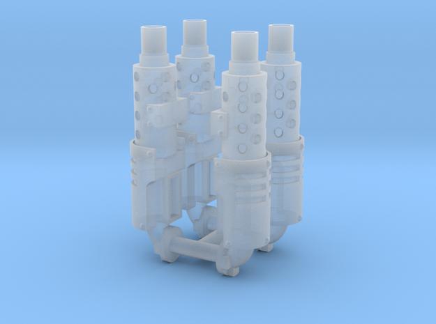 Exhaust stack x4 #1