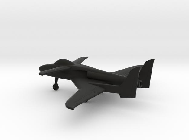 Scaled Composites 151 ARES in Black Natural Versatile Plastic: 1:160 - N