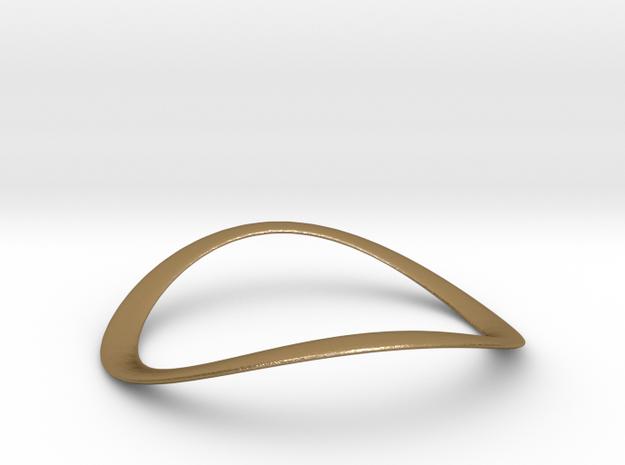 ONDA CLASSIC Steel Gold Bracelet in Polished Gold Steel