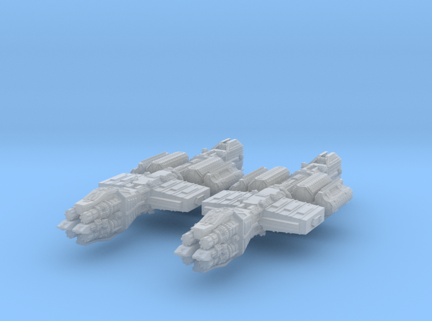 Orion Tanker x2 in Smooth Fine Detail Plastic