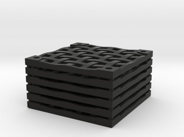 6x6 Iron Grate Set in Black Natural Versatile Plastic
