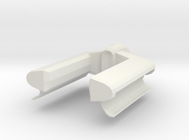 Covenient Type Trooper Transport Lift in White Natural Versatile Plastic