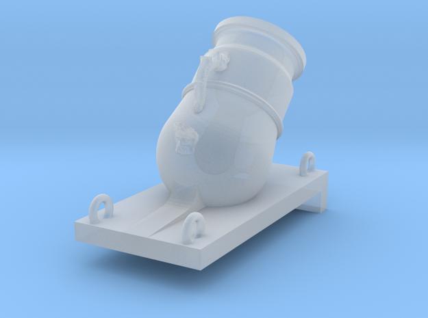 1/36 Mortier de 12£ -1765- X1 in Smooth Fine Detail Plastic
