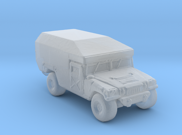 M997 Ambulance 285 scale in Smooth Fine Detail Plastic