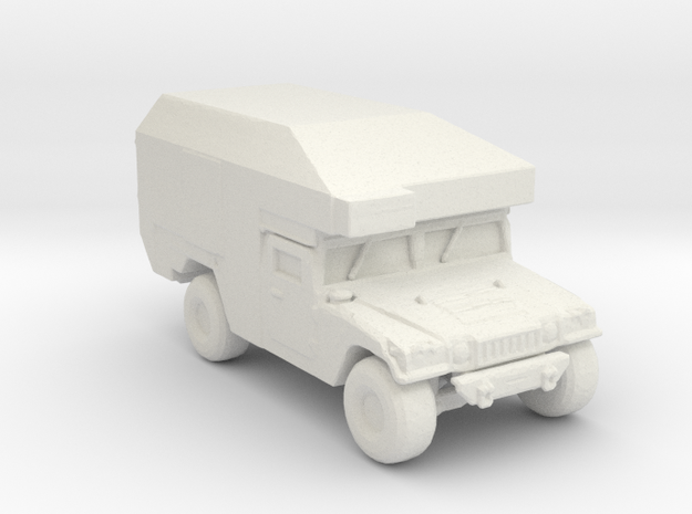 M997 command and maxi Ambulance 160 scale in White Natural Versatile Plastic